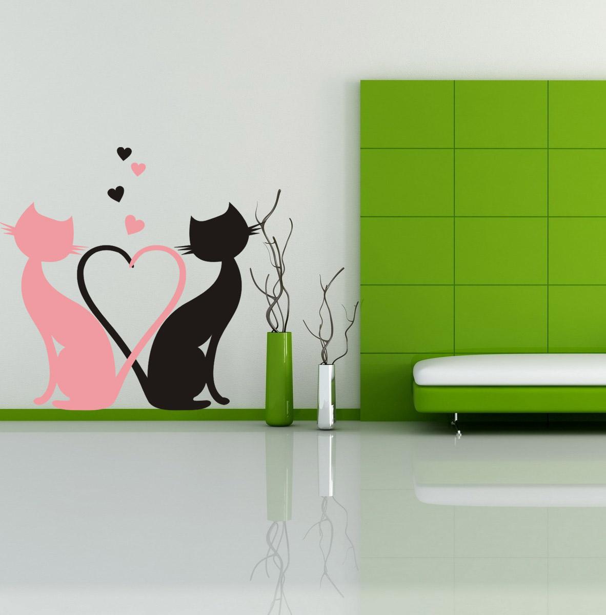 Коты на стене своими руками 505
